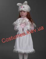 Детский карнавальный костюм Зайки-девочки