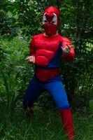 Костюм спайдермена (человека-паука)