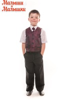 Детский нарядный костюм с галстуком