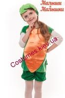 Детский карнавальный костюм Моркови №2