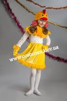 Детский карнавальный костюм Цыпленка для девочки